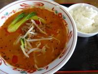 「四川坦々麺」@中国料理 満州菜館の写真