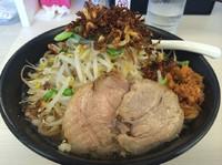 「かず屋のふじ麺  塩  クーポンで700円」@濃厚鶏豚骨魚介つけ麺 かず屋の写真