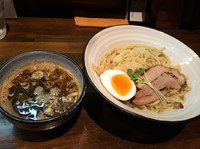 「鶏煮干しつけ麺  醤油  850円」@とんこつ屋 秀虎の写真