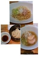 「小麦三昧(1200円税別)」@らーめん芝浜の写真