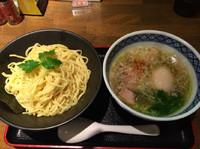 「塩つけめん  750円  クーポンで味玉」@麺処みどり 伊勢崎店の写真