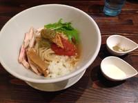 「【限定】鮭とマと男と女  トリュフソース付き」@麺や 蒼 AOIの写真