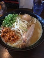 「味玉味噌豚骨ラーメン」@麺屋えびすの写真