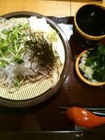 「大根そば」@花園蕎麦の写真