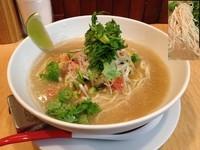 「真鯵の冷製塩そば」@Japanese Soba Noodles 蔦の写真
