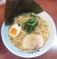 「魚介ラーメン:780円」@横浜家系らーめん 登龍門 品川店の写真
