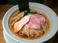 「煮干しらーめん  690円」@らーめん専門 うしおととりの写真