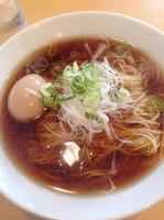 「ラーメン定食(醤油)➕味玉」@らーめん芝浜の写真
