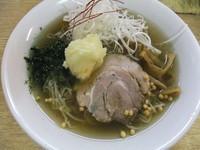 「【限定】冷たいゆず塩らーめん(780円)」@麺処 あずきの写真