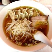 「ぎょうざ麺(¥500)」@らーめん亭の写真