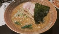 「背油味噌ラーメン  860円」@らーめん 大葉 土浦店の写真