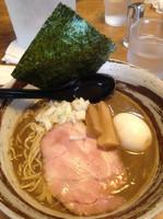 「限定煮干ラーメン➕星。玉」@いのうえの写真