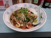 「生嗎麺(サンマーメン)温玉付」@らーめん 来来の写真