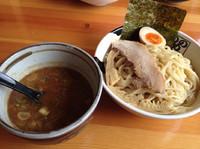 「節系濃厚(醤油)つけ麺(大盛)¥820」@ラーメン のしめの写真