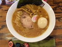 「味玉煮干しらーめん」@煮干しらーめん 四代目 玉五郎 鶴橋店の写真