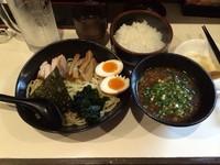 「しょうゆ つけ麺」@麺屋 鶏豚の写真