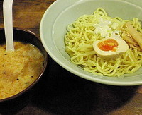 「つけ麺(とんこつ) 600円」@みぞのくち野郎の写真