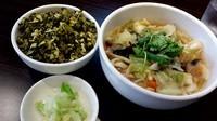 「野菜たっぷり刀削麺」@XI'AN刀削麺 大宮店の写真