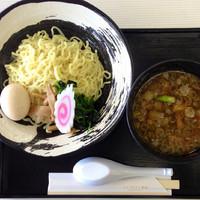 「つけ麺 750円」@レイクサイド磐光(喫茶・食堂)の写真