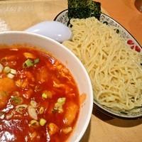 「チリエビつけ麺」@天心ラーメン 日暮里店の写真