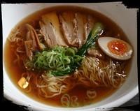 「肉トローリ!あっさり醤油らーめん 950えん」@中華カフェレストラン あきた茶房の写真
