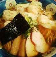 「特製ワンタン麺(黒出し) 1000円」@八雲の写真