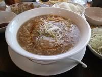 「酸辣湯麺のセット」@バーミヤン 尾久店の写真