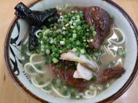「ソーキそば」@明石食堂の写真