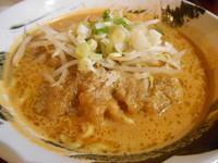 「みそパーコー坦々麺」@麺屋Ossanの写真