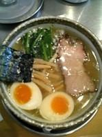 「鶏味玉塩ラーメン」@麺屋 才蔵の写真