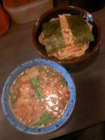 「つけ麺(並盛)850円」@めん屋 桔梗 坂町店の写真