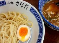 「つけ麺(麺180g、味玉半分サービス)」@つけめん さなだの写真