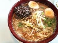 「純みそラーメン+煮玉子」@和田屋 吉野店の写真