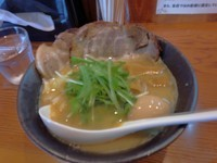 「濃厚煮干し麺 全部乗せ(1050円)」@麺屋 なか巌 国母店の写真