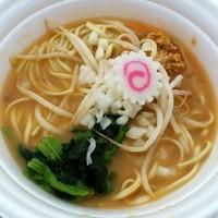 「【猪貴×ドラゴンラーメン×稲葉】味噌ラーメン750円」@つくばラーメンフェスタ2014の写真