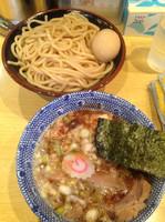「つけ麺➕味玉➕半チャーシュー」@くり山の写真