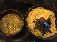 「つけ麺(大盛り、温)」@つじのやの写真