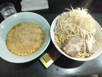 「つけ麺700円(トッピング全部ダブル)」@ラーメン 新橋店の写真