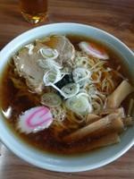 「ラーメン ¥550」@手打ちらーめん ふく屋食堂の写真