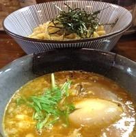 「【期間限定】カレーつけ麺 in チーズ+味玉(¥850)」@麺屋 やま昇 住吉店の写真