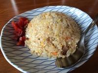 「半やきめし(単品¥300、麺セットで+¥250)」@シバライズの写真