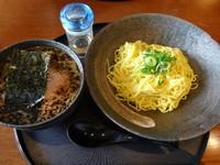 「あっさりつけ麺」@創作dining 楽(GAKU)の写真