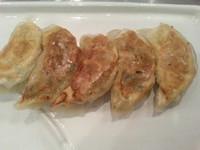 「担担麺+手包み餃子セット1,100円」@高崎はた山の写真