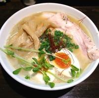 「鶏そば 全部のせ(¥950)」@鶏そば 蒼の写真