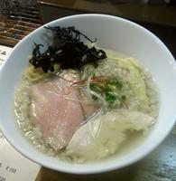 「鶏清湯 背油塩ら~めん」@麺庵 小島流の写真
