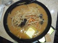 「味噌ラーメン630円+バター70円(味濃目・こってり)」@麺王 柏東口店の写真
