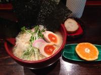 「鶏白湯らーめん 塩 海苔 煮たまご」@せん吉の写真