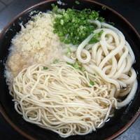 「ラーメン・うどん 計2玉 300円」@松下製麺所の写真