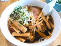 「最高の中華・太麺(メンマ増し)」@まる鐡二代目の写真