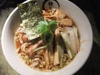 「【おやっさんの気まぐれ】今昔鶏想麺(900円)」@らーめん愉悦処 鏡花の写真